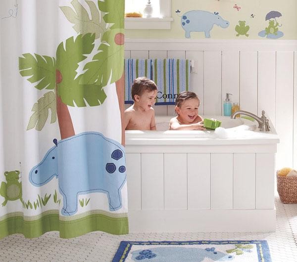 Υπέροχες Ιδέες διακόσμησης Μπάνιου για τα παιδιά σας1