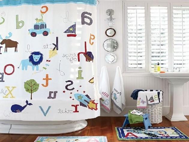 Υπέροχες Ιδέες διακόσμησης Μπάνιου για τα παιδιά σας12