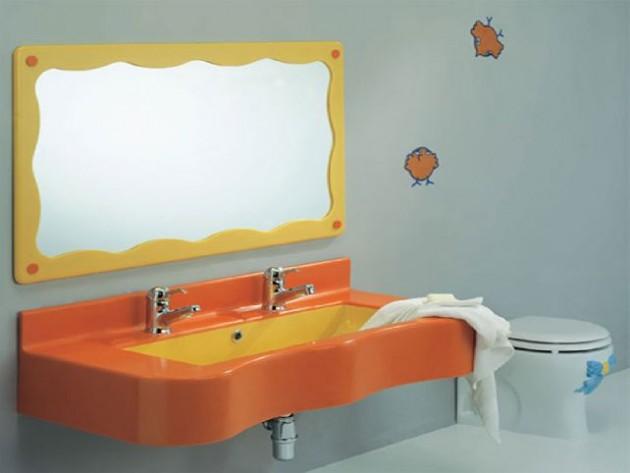 Υπέροχες Ιδέες διακόσμησης Μπάνιου για τα παιδιά σας15