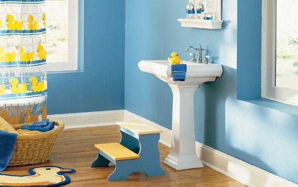 Υπέροχες Ιδέες διακόσμησης Μπάνιου για τα παιδιά σας6