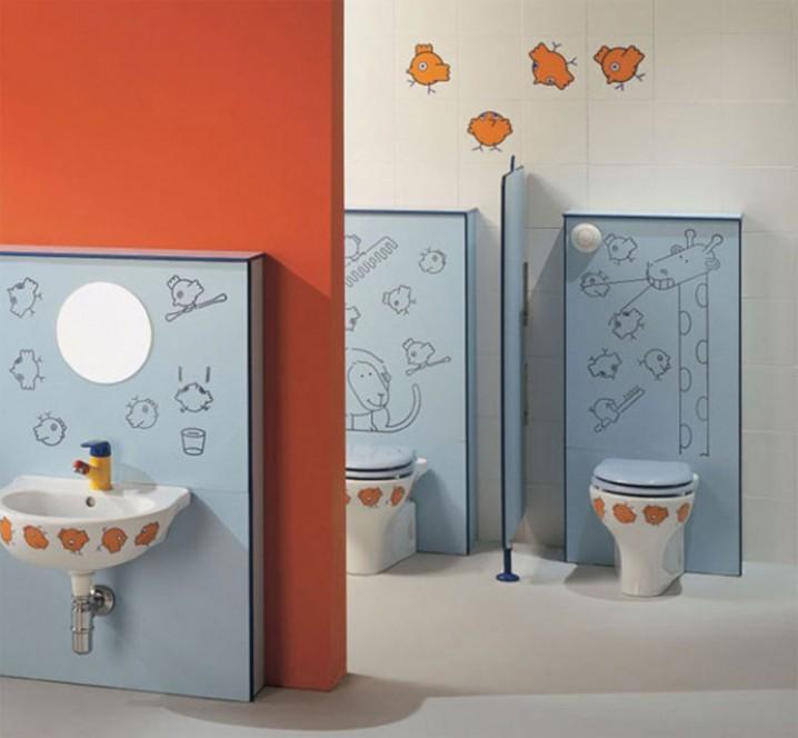 Υπέροχες Ιδέες διακόσμησης Μπάνιου για τα παιδιά σας8