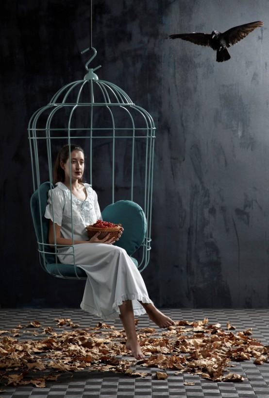 καρέκλα κλουβί