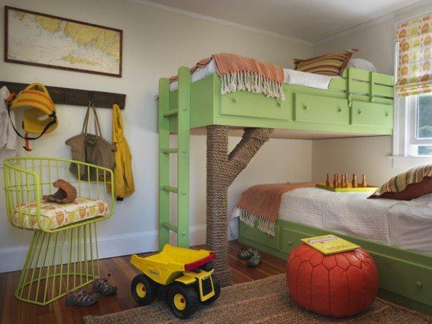 Υπνοδωμάτια για παιδιά Σχεδιασμένα σε θαλασσινό στυλ10
