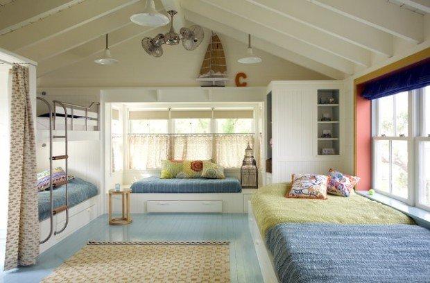 Υπνοδωμάτια για παιδιά Σχεδιασμένα σε θαλασσινό στυλ11