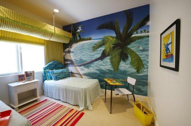 Υπνοδωμάτια για παιδιά Σχεδιασμένα σε θαλασσινό στυλ15