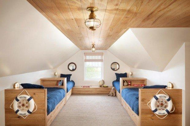 Υπνοδωμάτια για παιδιά Σχεδιασμένα σε θαλασσινό στυλ2