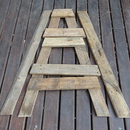 σταντ για βότανα ή φυτά από ξύλινές παλέτες5