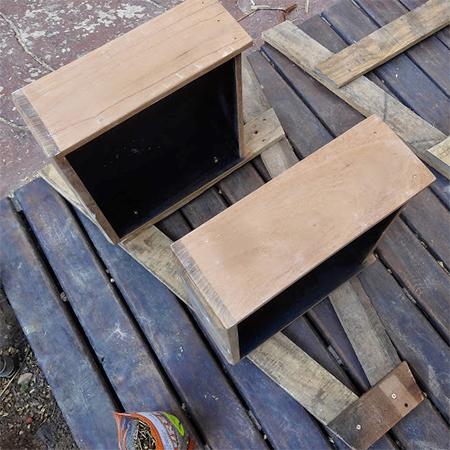 σταντ για βότανα ή φυτά από ξύλινές παλέτες6