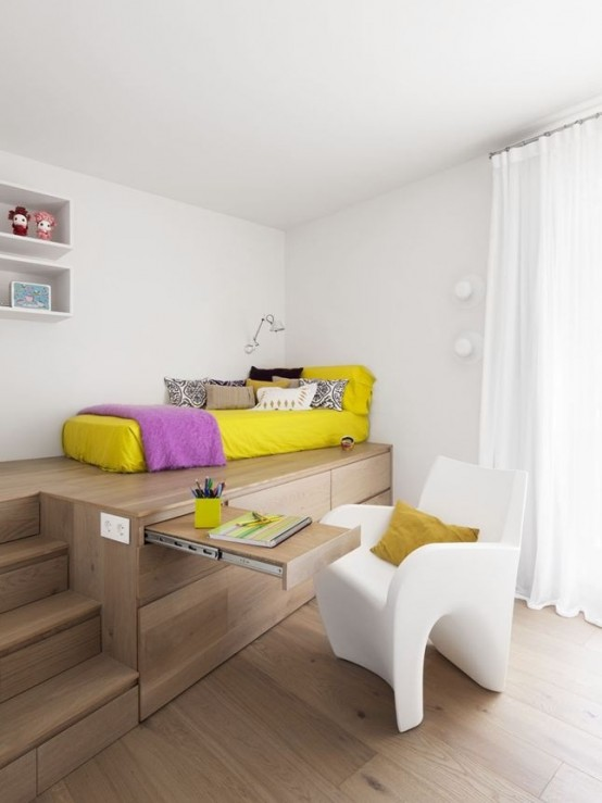 χρώματα και υφές για μικρούς χώρους14