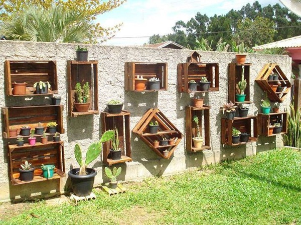 Παλιά Τελάρα για να διακοσμήσετε τον κήπο σας1