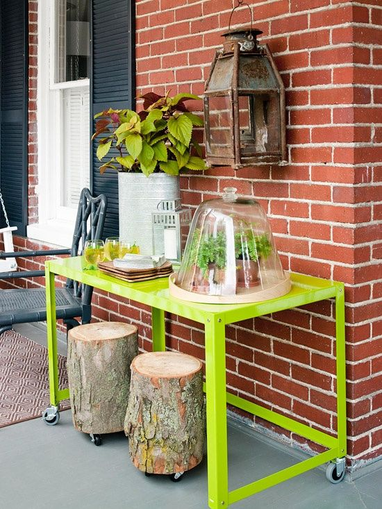 Ιδέες με Κούτσουρα Για μια Φυσική διακόσμηση σπιτιού15