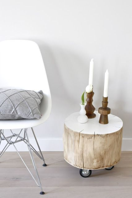 Ιδέες με Κούτσουρα Για μια Φυσική διακόσμηση σπιτιού20