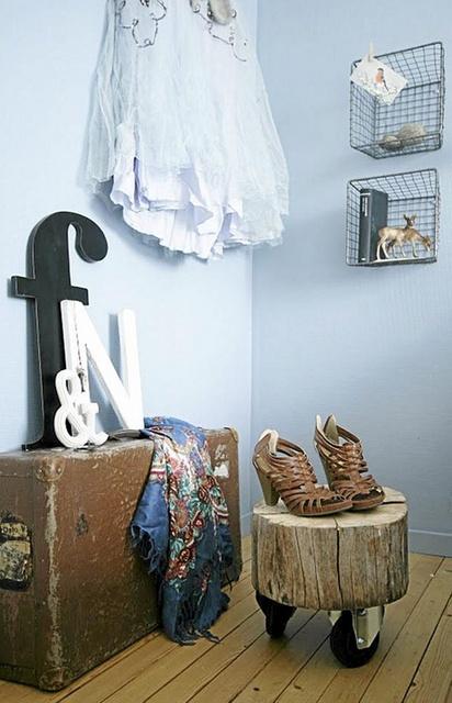 Ιδέες με Κούτσουρα Για μια Φυσική διακόσμηση σπιτιού24