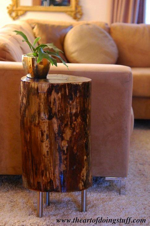 Ιδέες με Κούτσουρα Για μια Φυσική διακόσμηση σπιτιού4