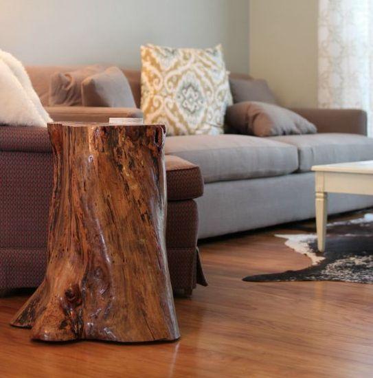 Ιδέες με Κούτσουρα Για μια Φυσική διακόσμηση σπιτιού6
