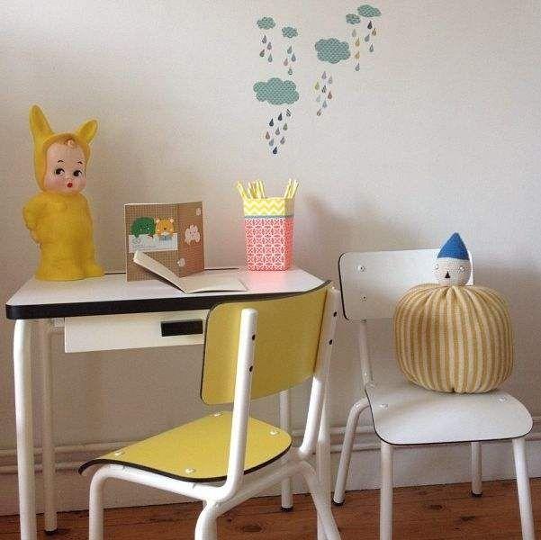 Εκπληκτικά παιδικά vintage γραφεία4
