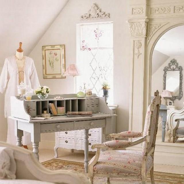 Ρομαντικοί χώροι σε Shabby Chic Στυλ2
