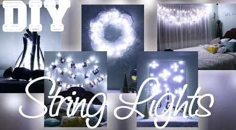 DIY σειρές Φωτός για ρομαντικές διακόσμήσεις