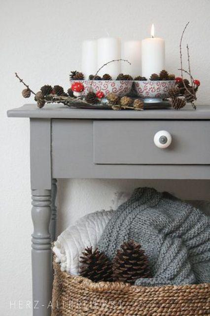 Ιδέες Διακόσμησης για τα Χριστούγεννα σε όλες τις αποχρώσεις του γκρι23