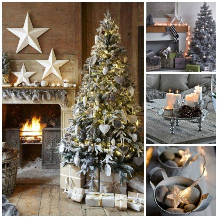 28 Κομψές Ιδέες Διακόσμησης για τα Χριστούγεννα σε όλες τις αποχρώσεις του γκρι