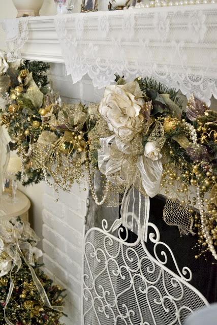 Ιδέες για Vintage λευκά  Χριστούγεννα10
