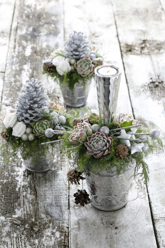 Ιδέες για Vintage λευκά  Χριστούγεννα14