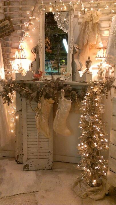 Ιδέες για Vintage λευκά  Χριστούγεννα18