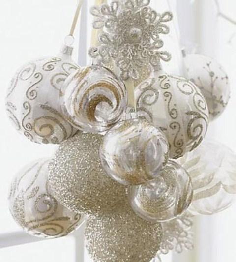 Ιδέες για Vintage λευκά  Χριστούγεννα2