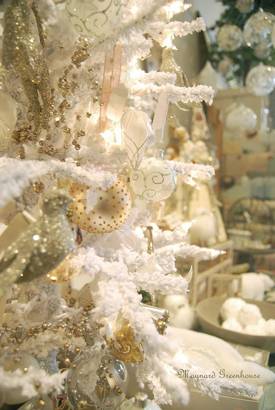 Ιδέες για Vintage λευκά  Χριστούγεννα21