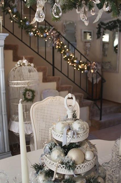 Ιδέες για Vintage λευκά  Χριστούγεννα23