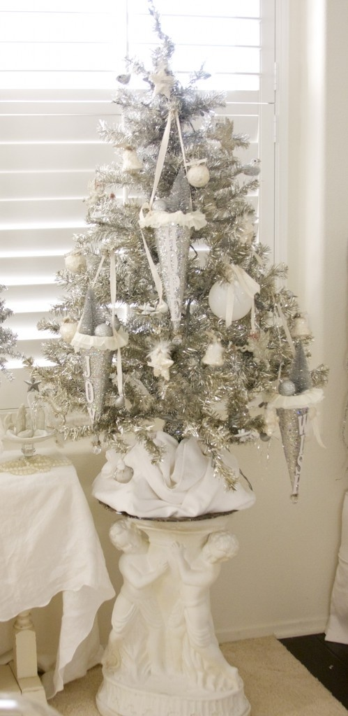 Ιδέες για Vintage λευκά  Χριστούγεννα29