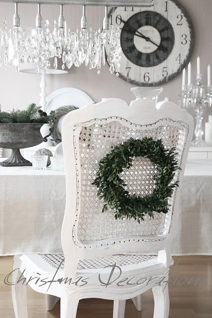 Ιδέες για Vintage λευκά  Χριστούγεννα3