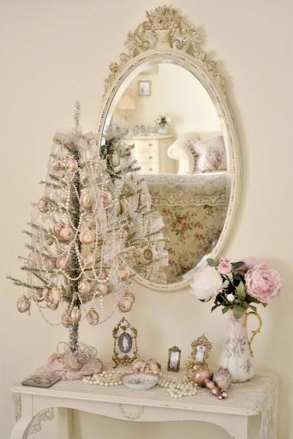 Ιδέες για Vintage λευκά  Χριστούγεννα31