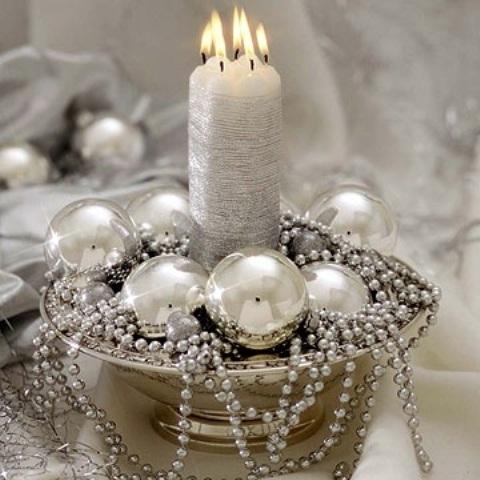 Ιδέες για Vintage λευκά  Χριστούγεννα32