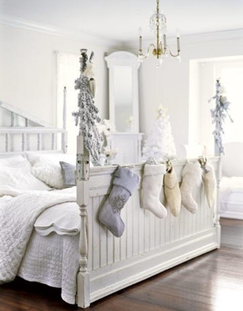 Ιδέες για Vintage λευκά  Χριστούγεννα33