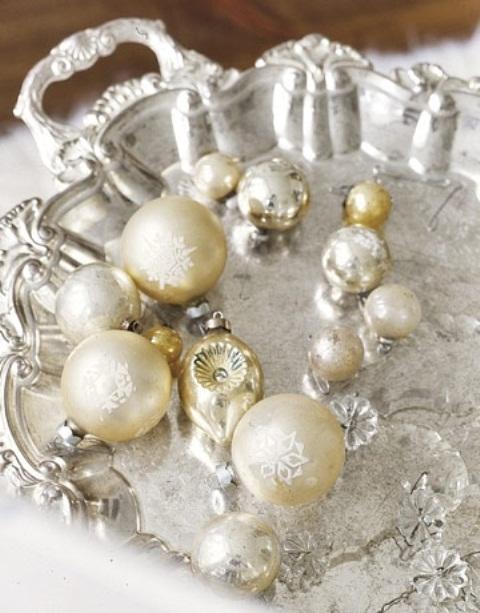 Ιδέες για Vintage λευκά  Χριστούγεννα41