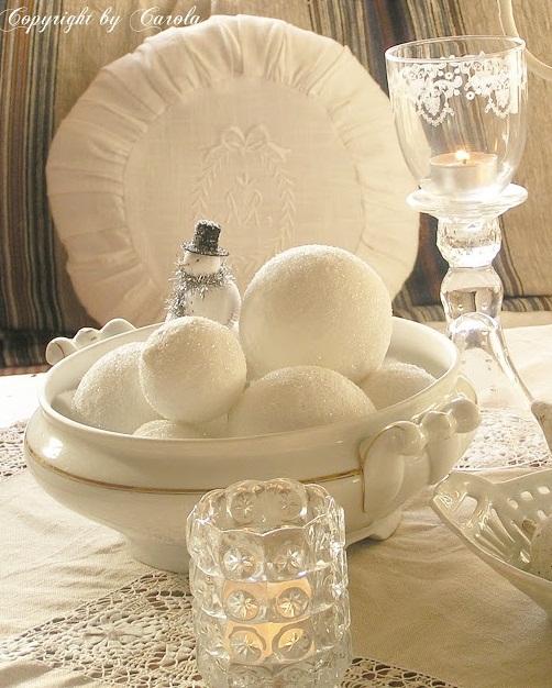 Ιδέες για Vintage λευκά  Χριστούγεννα42