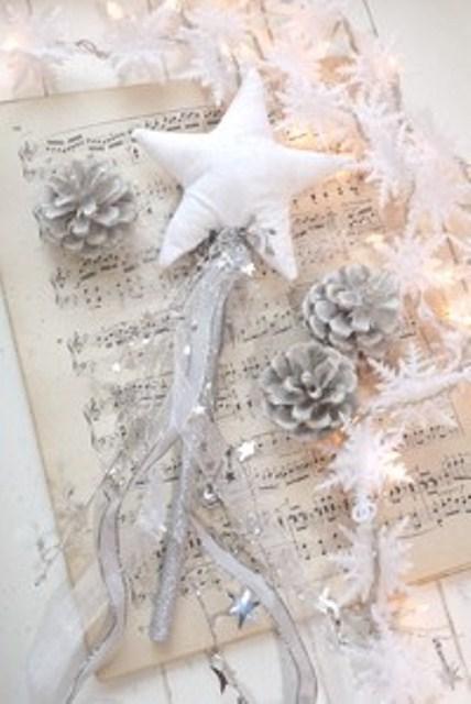 Ιδέες για Vintage λευκά  Χριστούγεννα7