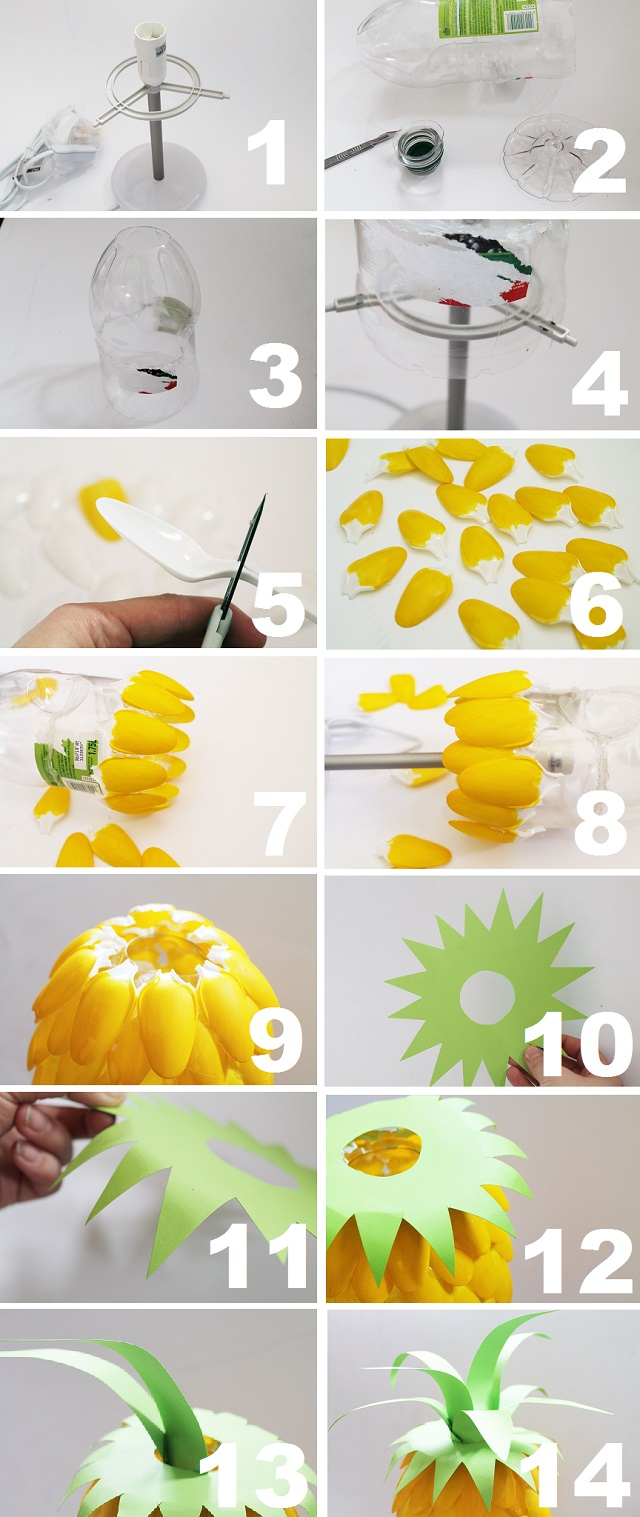 Λάμπα σε μοτίβο ανανά 2