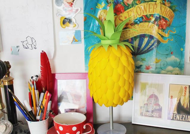 Λάμπα σε μοτίβο ανανά 3