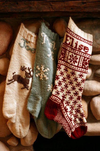 Πλεκτά Χριστουγεννιάτικα διακοσμητικά10