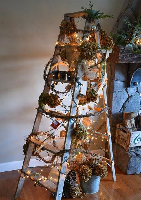 Πρωτότυπο χριστουγεννιάτικο δέντρο σκάλα6