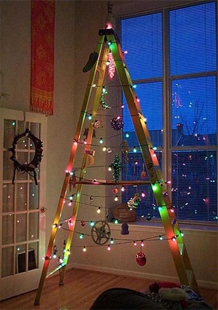 Πρωτότυπο χριστουγεννιάτικο δέντρο σκάλα9