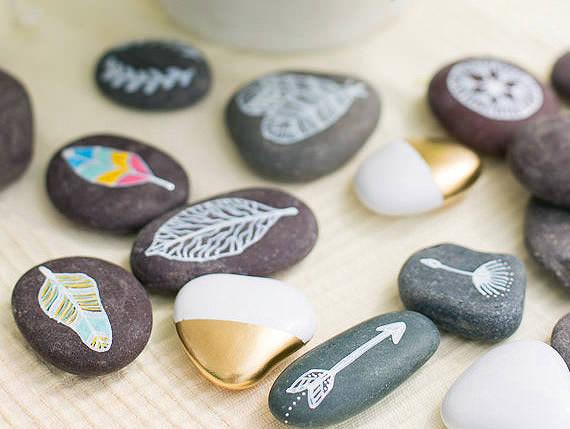 διακοσμήση με βότσαλα και πέτρες1