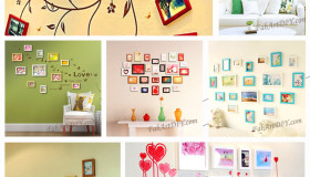 ιδέες με κορνίζες για Wall art