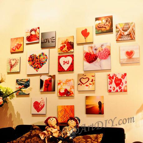 ιδέες με κορνίζες για Wall art15