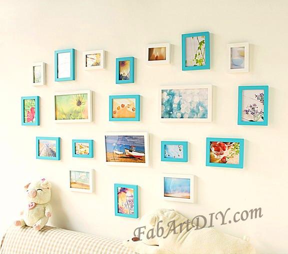 ιδέες με κορνίζες για Wall art16