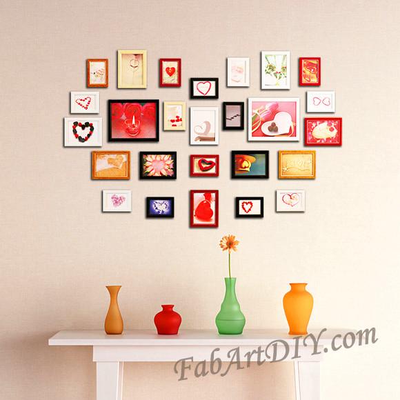 ιδέες με κορνίζες για Wall art17