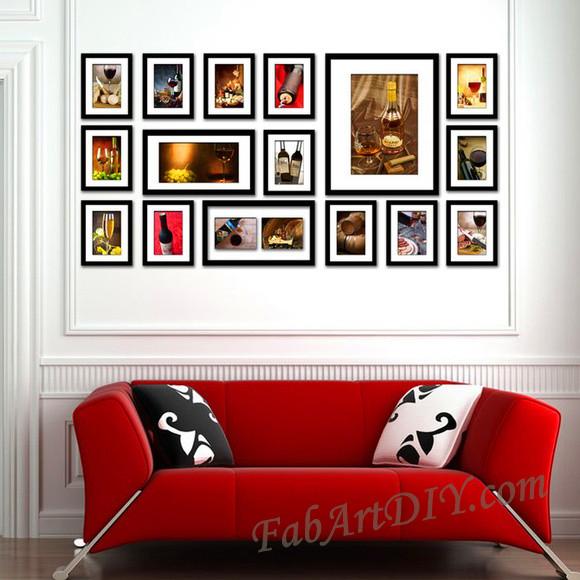 ιδέες με κορνίζες για Wall art18