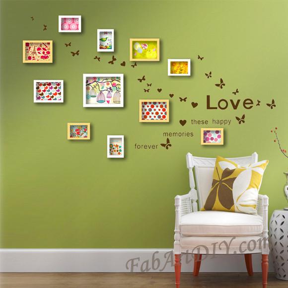 ιδέες με κορνίζες για Wall art20